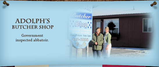 Adolph's Butcher Shop